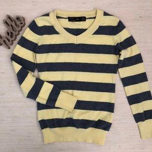 ZARA Knit Top Crew neck Sweater